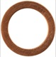 Seal ring 14,4 mm 1,5 mm 18671 (1020360) - Volvo universal