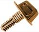 Clip, Panel Spare wheel panel Load cover beige 1244219 (1020884) - Volvo 200, 900, V90 (-1998)