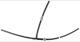Schlauch, Benzindampfabsaugung mit Rückschlagventil 30757308 (1020968) - Volvo C70 (-2005), S70 V70 V70XC (-2000)