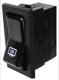 Switch Rear window heater 1258493 (1021487) - Volvo 200