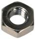 Nut with metric Thread M8 galvanized 100 Pcs  (1021711) - universal