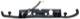 Dichtung, Türgriff mit Lampenträger, Kennzeichenleuchte 9485529 (1021968) - Volvo V70 (-2000), V70 XC (-2000)