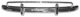Bumper front Stainless steel polished  (1022132) - Volvo PV P210