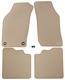 Floor accessory mats Velours beige  (1022516) - Saab 900 (-1993)