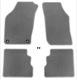 Floor accessory mats Velours grey  (1022517) - Saab 900 (-1993)