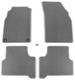 Floor accessory mats Velours grey  (1022518) - Saab 9000