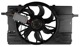Electrical radiator fan 31261988 (1022811) - Volvo C30, C70 (2006-), S40 V50 (2004-)