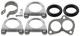 Montagesatz, Abgasanlage  (1023043) - Volvo 120 130 220