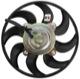 Electrical radiator fan