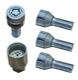 Rim lock set 8670963 (1023772) - Volvo C70 (-2005), S70 V70 V70XC (-2000)