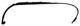 Trim moulding, Headlight left 9190323 (1025079) - Volvo S60 (-2009), V70 P26, XC70 (2001-2007)