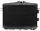 Radiator, Engine cooling Manual transmission Automatic transmission 252188 (1025324) - Volvo 120 130 220, 140, P1800, P1800ES