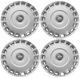 Radkappe silber 16 Zoll für Stahlfelgen Satz 31201729 (1026773) - Volvo C30, C70 (2006-), S40 V50 (2004-), V40 (2013-), V40 XC