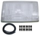 Lens, Headlight left 1312058 (1028888) - Volvo 200