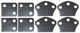 Spacer, Hinge for Bootlid Rubber Kit  (1029086) - Volvo P445 P210