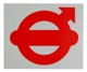 Klebefolie Tür Volvo Logo  (1029551) - Volvo 120 130 220, 140, 164, 200, 700, P1800, P1800ES, PV