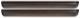 Windabweiser Seitenscheibe, Tür hinten Satz 3542251 (1029796) - Volvo 850, S70 V70 V70XC (-2000)