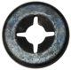 Clip, Speaker cover 989053 (1030142) - Volvo 200