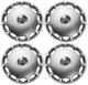 Radkappe silber 16 Zoll für Stahlfelgen Satz 31280518 (1030303) - Volvo C70 (-2005), S60 (-2009), S70 V70 (-2000), S80 (-2006), S90 V90 (-1998), V70 P26, V70 XC (-2000), XC70 (2001-2007)