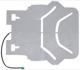 Heizelement, Sitzheizung 30675155 (1030418) - Volvo S60 (-2009), V70 P26, XC70 (2001-2007)