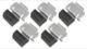 Clip Wheel cover Clamp Kit 8973422 (1031027) - Saab 900 (-1993), 9000