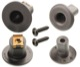 Mounting kit Draft stop 400110359 (1031122) - Saab 9-3 (-2003)