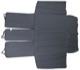 Trunk mat Vinyl black (offblack) 30721007 (1031165) - Volvo XC60 (-2017)