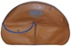 Cover, Spare wheel brown  (1031243) - Volvo 120 130, 140, 164, PV