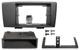 Mounting frame radio for DIN radio 8622876 (1031327) - Volvo S60 (-2009), V70 P26, XC70 (2001-2007)