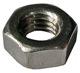Nut flat M6 Zinc-coated 985876 (1031672) - Volvo universal ohne Classic