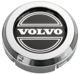 Wheel Center Cap chrome-black for Genuine Light alloy rims