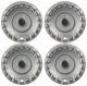 Radkappe silber 15 Zoll für Stahlfelgen Satz 31280519 (1032336) - Volvo C30, C70 (2006-), S40 V50 (2004-), V40 (2013-), V40 XC