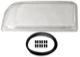 Lens, Headlight left H1  (1032390) - Volvo 850
