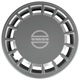 Wheel cover silver 15 Inch Old Style for Steel rims Piece  (1032635) - Volvo 700, 900, S90 V90 (-1998)
