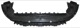 Air guide Bumper front 31299059 (1032702) - Volvo C30