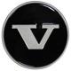 Nabenkappe schwarz für Stahlfelgen 1272790 (1034488) - Volvo 200, 700