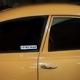 Aufkleber I love my Saab weiß