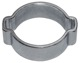 Hose clamp 13 mm 15 mm 2-ear clamp  (1036886) - universal