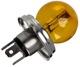 Bulb R2 (Bilux) Headlight yellow 12 V 45/40 W 277730 (1037086) - Volvo 120 130 220, 140, 164, P1800, P1800ES, PV