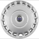 Radkappe silber 16 Zoll für Stahlfelgen Stück 30760330 (1037103) - Volvo C30, C70 (2006-), S40 V50 (2004-), V40 (2013-), V40 XC