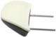 Head rest outer 30615653 (1037599) - Volvo C30, S40 V50 (2004-)