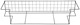 Shelf Basket Trunk 281110 (1037680) - Volvo 140, 164, 200