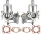 Carburettor SU HS6 Kit 2 Pcs  (1037832) - Volvo 120 130 220, 140, P1800, PV