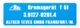 Information sign Brake booster  (1037930) - Volvo P1800, P1800ES