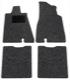 Floor accessory mats Needle felt black-grey 281033 (1038212) - Volvo 140