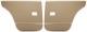 Türverkleidung hinten braun Satz für beide Seiten  (1038259) - Volvo 120 130 220