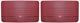 Türverkleidung rot Satz für beide Seiten  (1038288) - Volvo PV