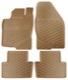 Fußmattensatz Gummi beige 39891793 (1038755) - Volvo V70 P26, XC70 (2001-2007)