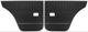 Türverkleidung hinten schwarz Satz für beide Seiten  (1038937) - Volvo 120 130