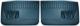 Türverkleidung Fahrertür Beifahrertür blau Kunstleder Satz für beide Seiten  (1039050) - Volvo 220